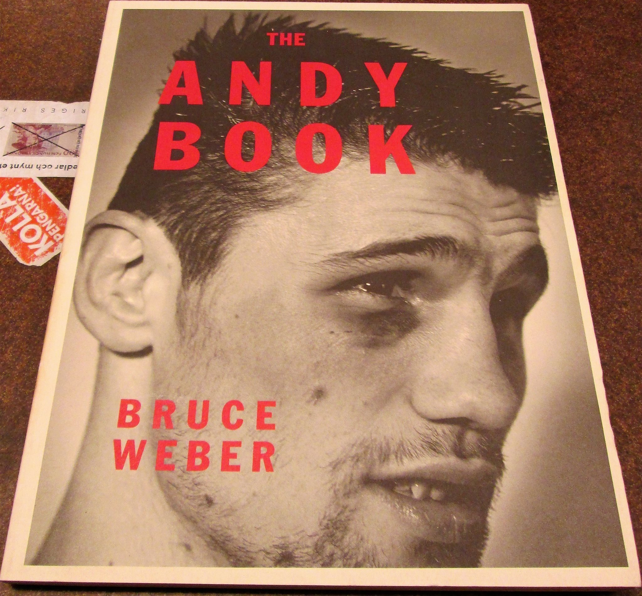 The Andy Book / Bruce Weber / 1987