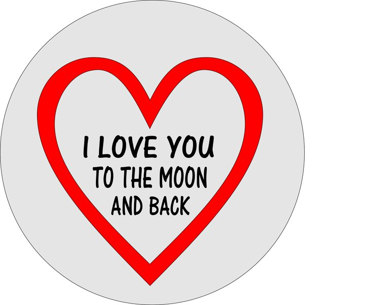 musmatta hj rta i love you to the moon and back p vriga. Black Bedroom Furniture Sets. Home Design Ideas