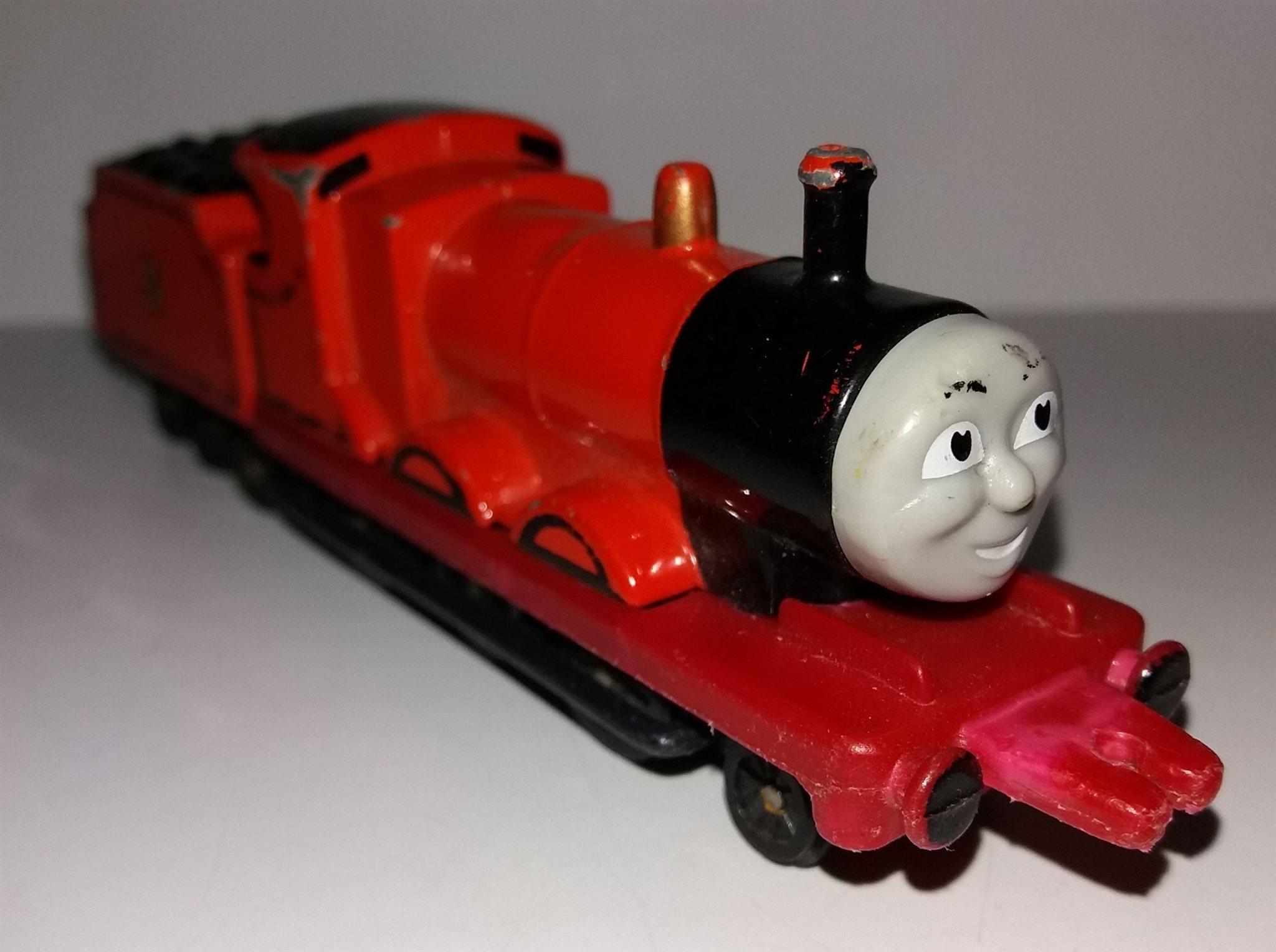 Thomas Tåget   (och) vännerna - James - ERTL (339792475) ᐈ Köp på ... c70cf7edf8834