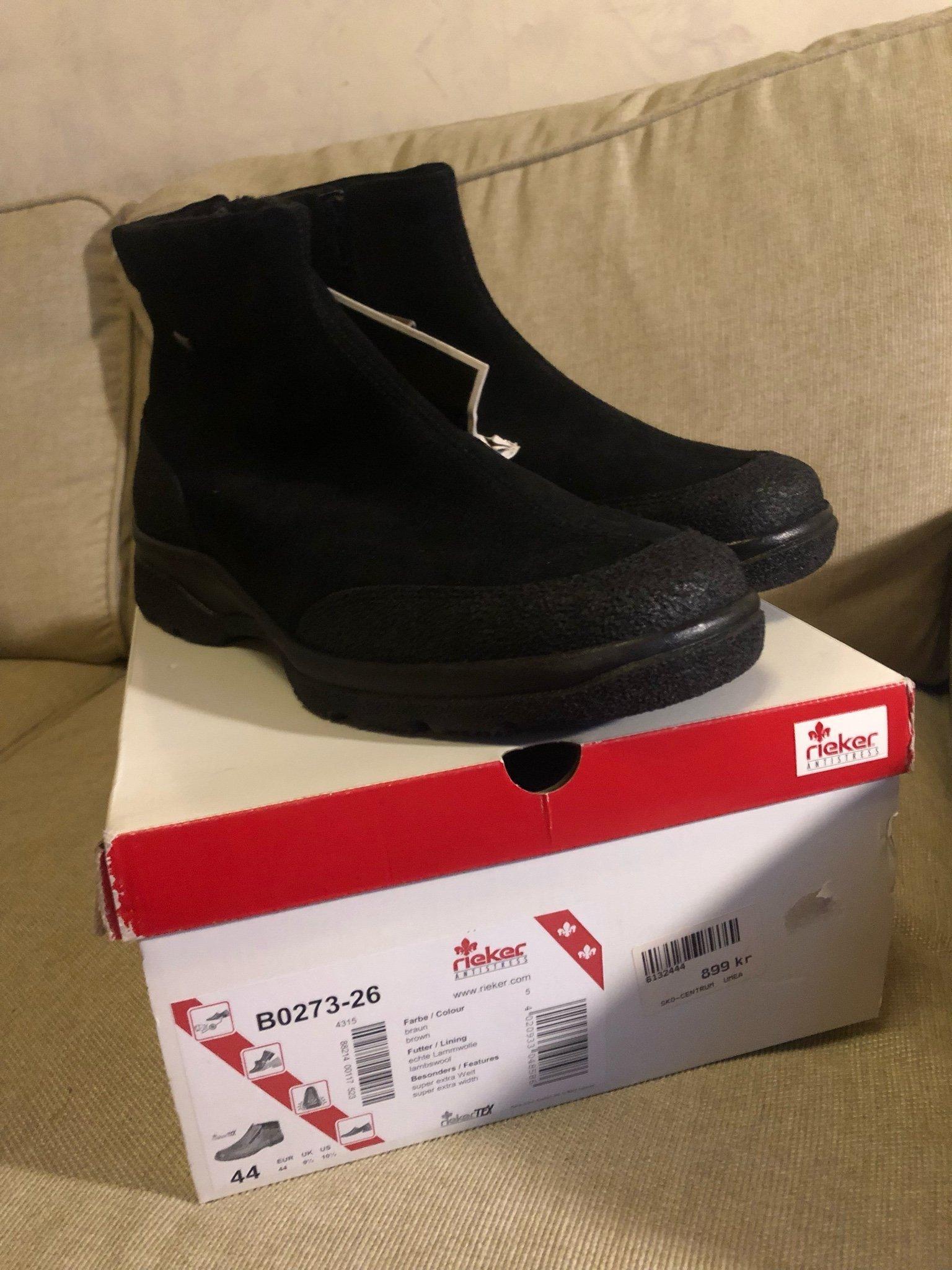 Nya Rieker Gore tex kängor boots stövlar strl 4.. (349073359