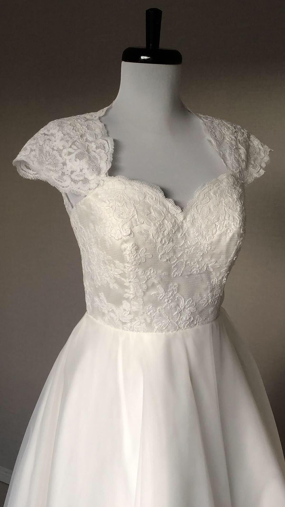 2de7032ef729 Bröllopsklänning, 50-tals klänning, 60-tals, vintage Brudklänning Retro ...