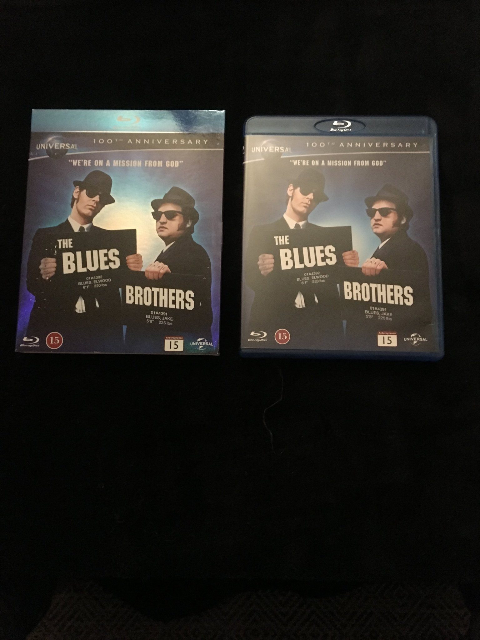 The Blues Brothers 100th anniversary Blu-ray