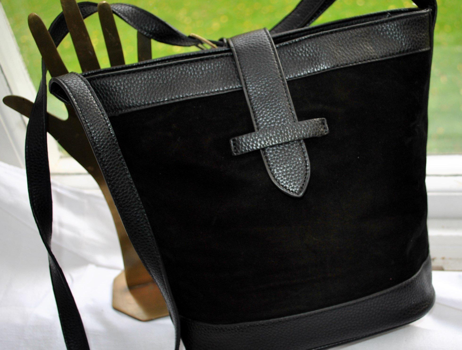 Retro fin tidlös liten Å kvalité AXELREMSVÄSKA väska i mocka.imitation