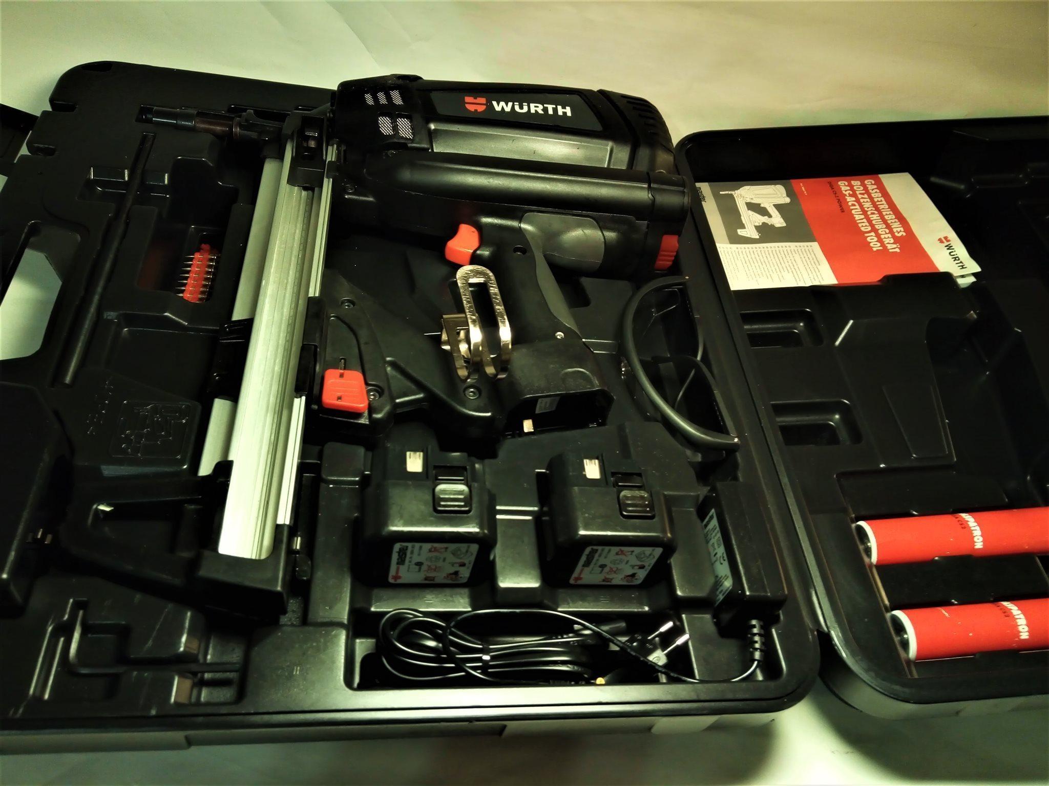 Würth Bultpistol Bultpistol Bultpistol DIGA ® CS-2 POWER Gasdriven bultpistol 1f2025