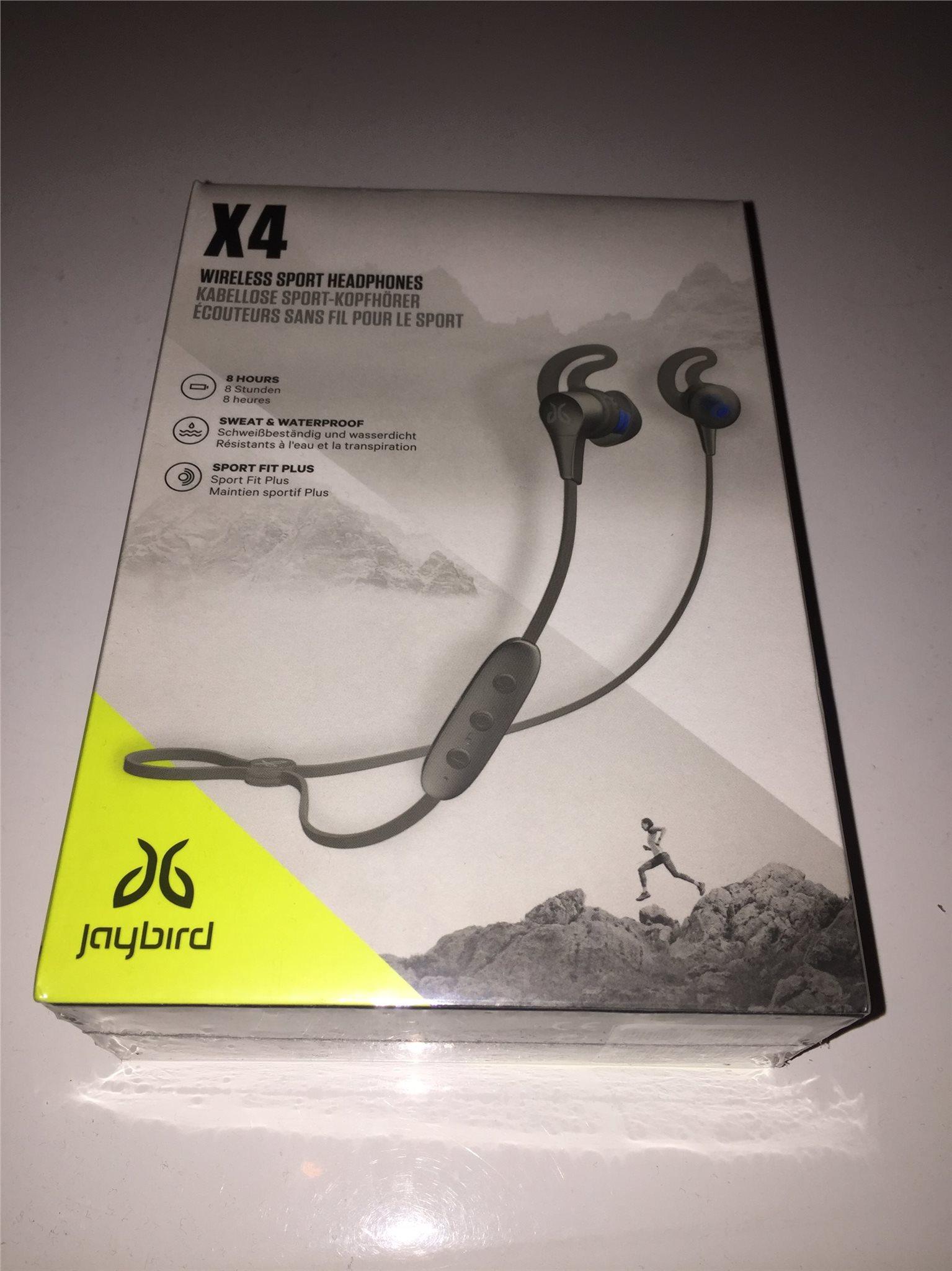 Jaybird X4 (trådlösa hörlurar) (336692025) ᐈ Köp på Tradera af947d88cfc0e