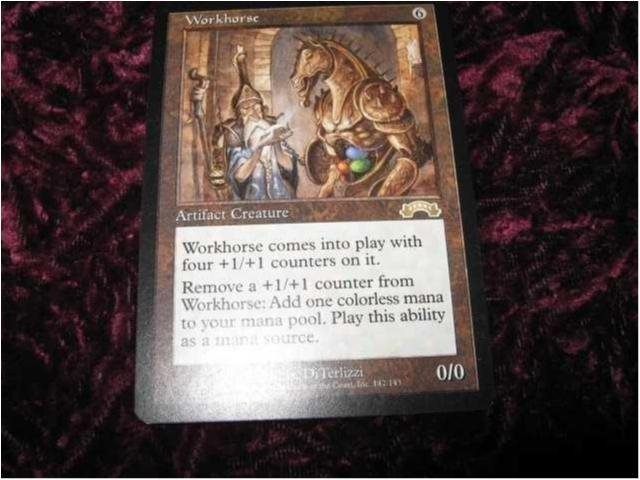 WORKHORSE RARE(ARTIFACT URZA'S SAGA)0/0