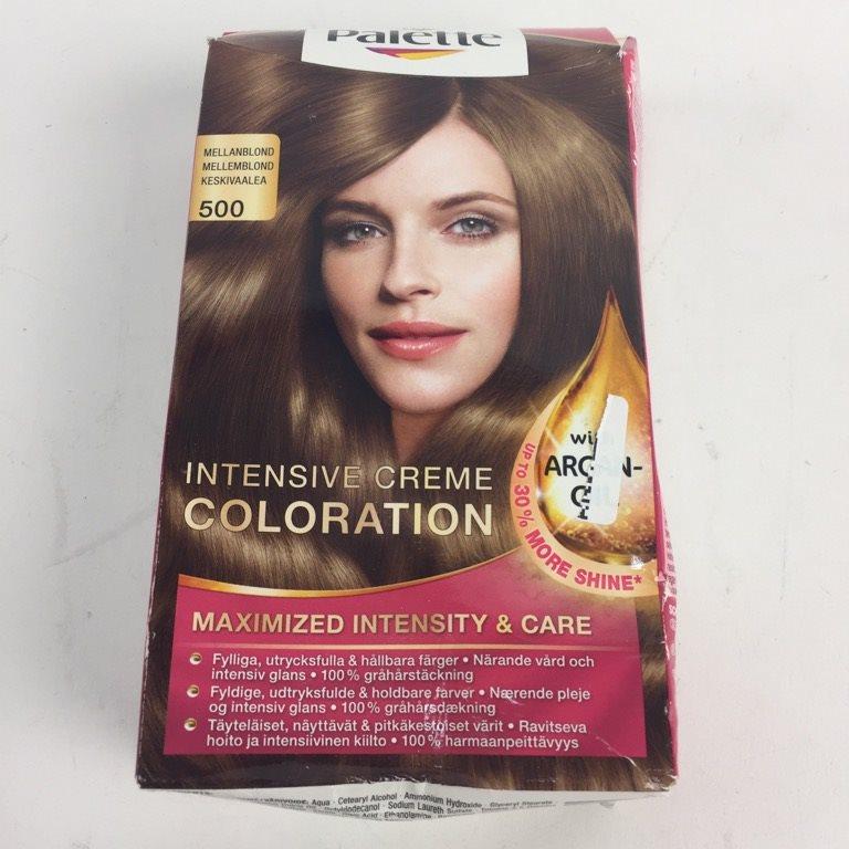 poly palette hårfärg