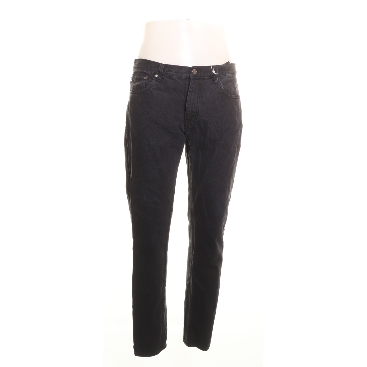 Weekday, Jeans, Strl: 33/32, Alley, Svart, Bomull