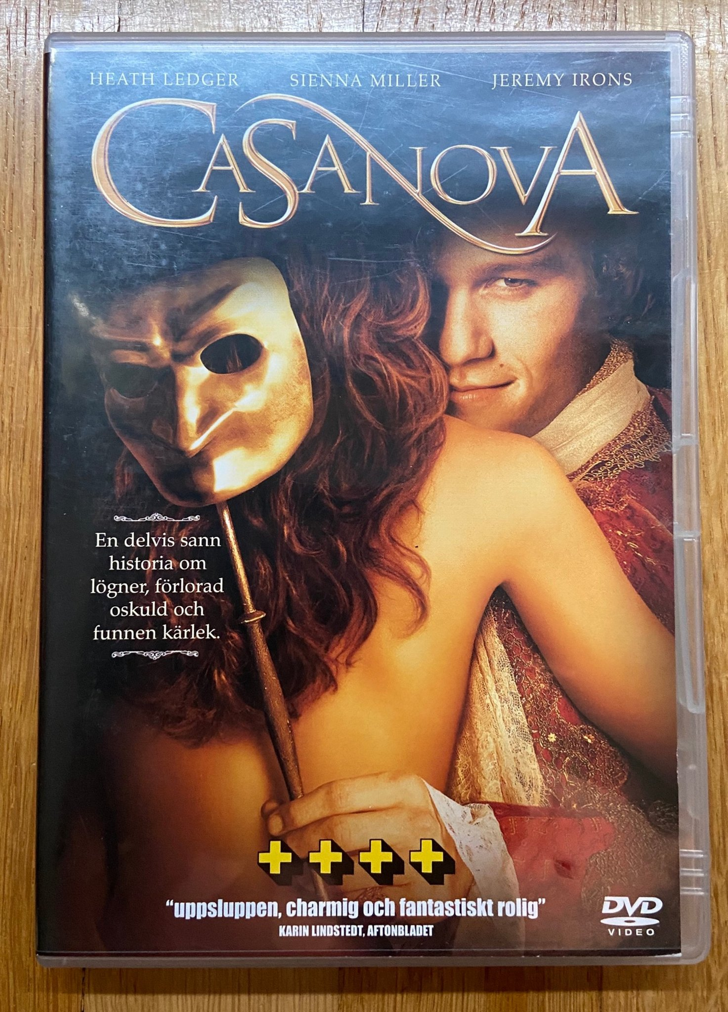 Casanova - Heath Ledger, Sienna Miller, Jeremy Irons