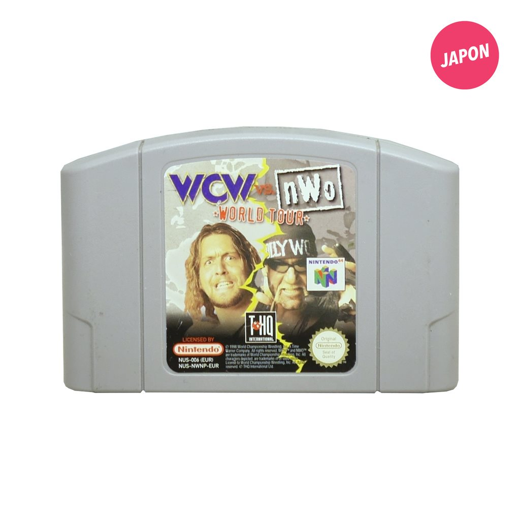 WCW vs nWo: World Tour (EUR / N64)