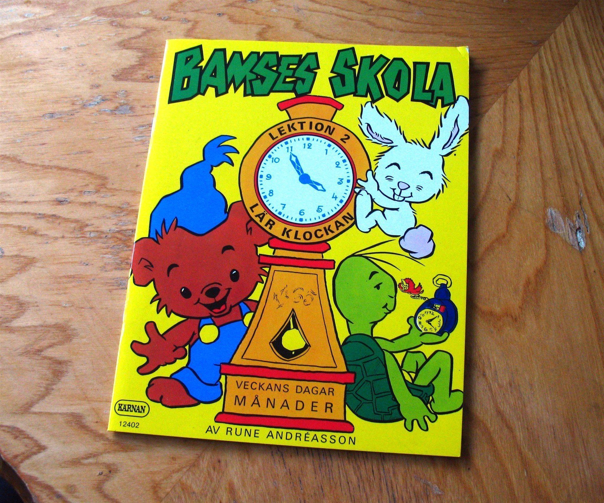 ljudböcker barn bamse