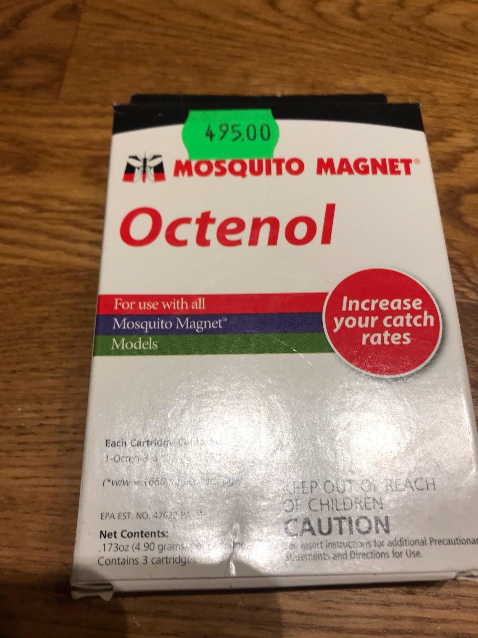 REFILL MOSQUITO MAGNET OCTENOL (350294783) ᐈ Köp på Tradera
