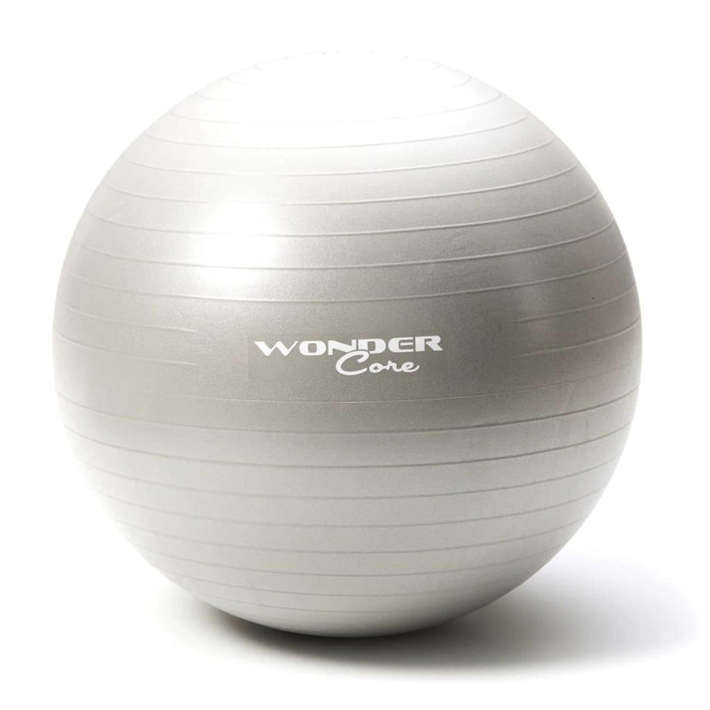 Wonder Core Core Core Gymnastikboll Anti-Burst 65 cm grå WOC028 e555d4