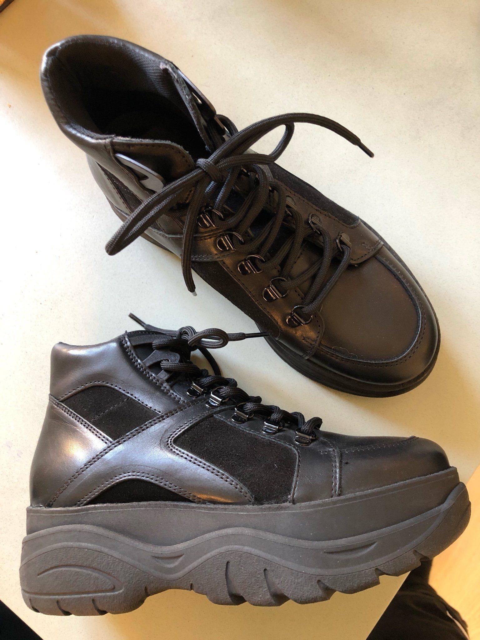 skor på avbetalning