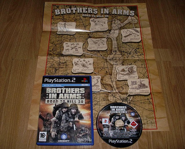 PS2: Brothers in Arms Road to Hill 30