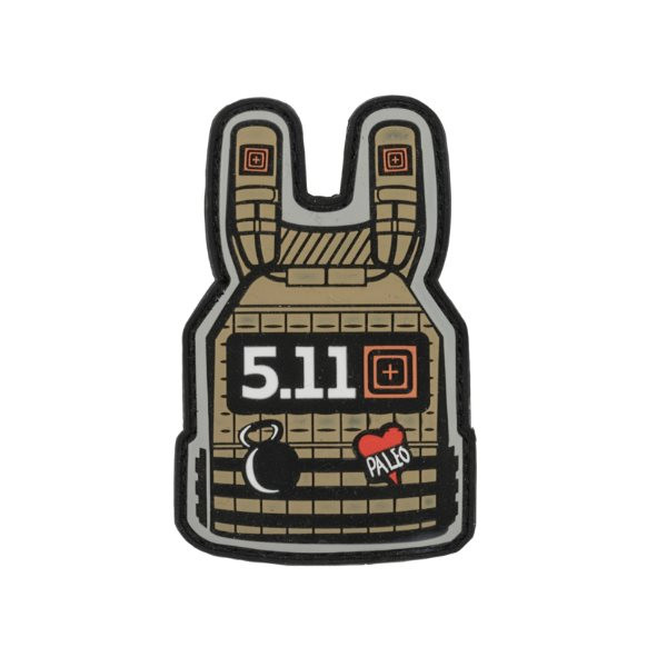 5.11 Tactical Plate Carrier Patch - Coyote