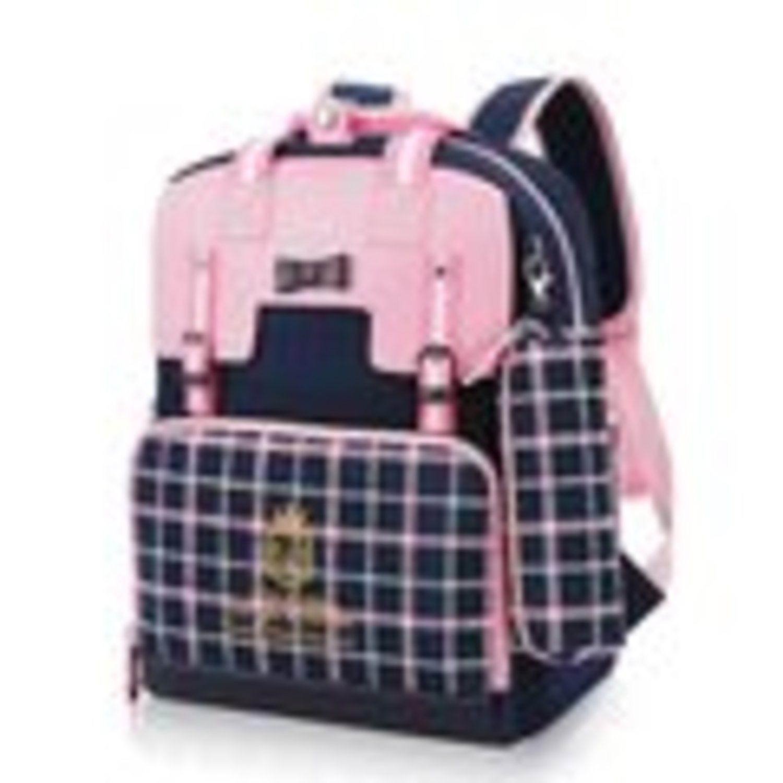 069ec6ea4bd flickor skolar ryggsäck bookbag plaid väska barn skolväskor för tonåringar  ...