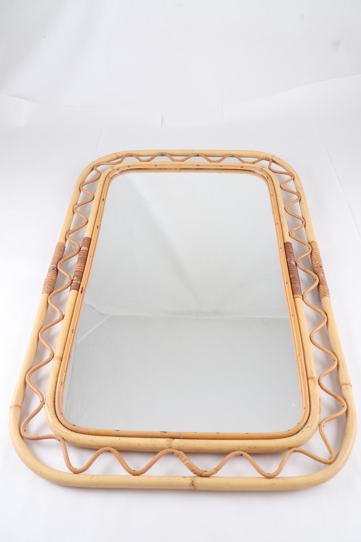Spegel, bambu och rotting, Firm.. (414092804) ᐈ