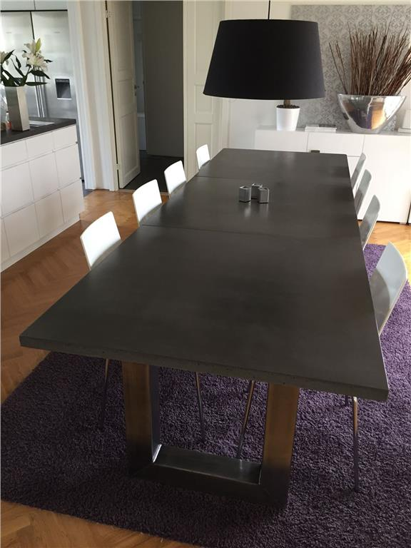 VASS matbord betong Vånskär III, 300 x 100 cm. på Tradera.com -