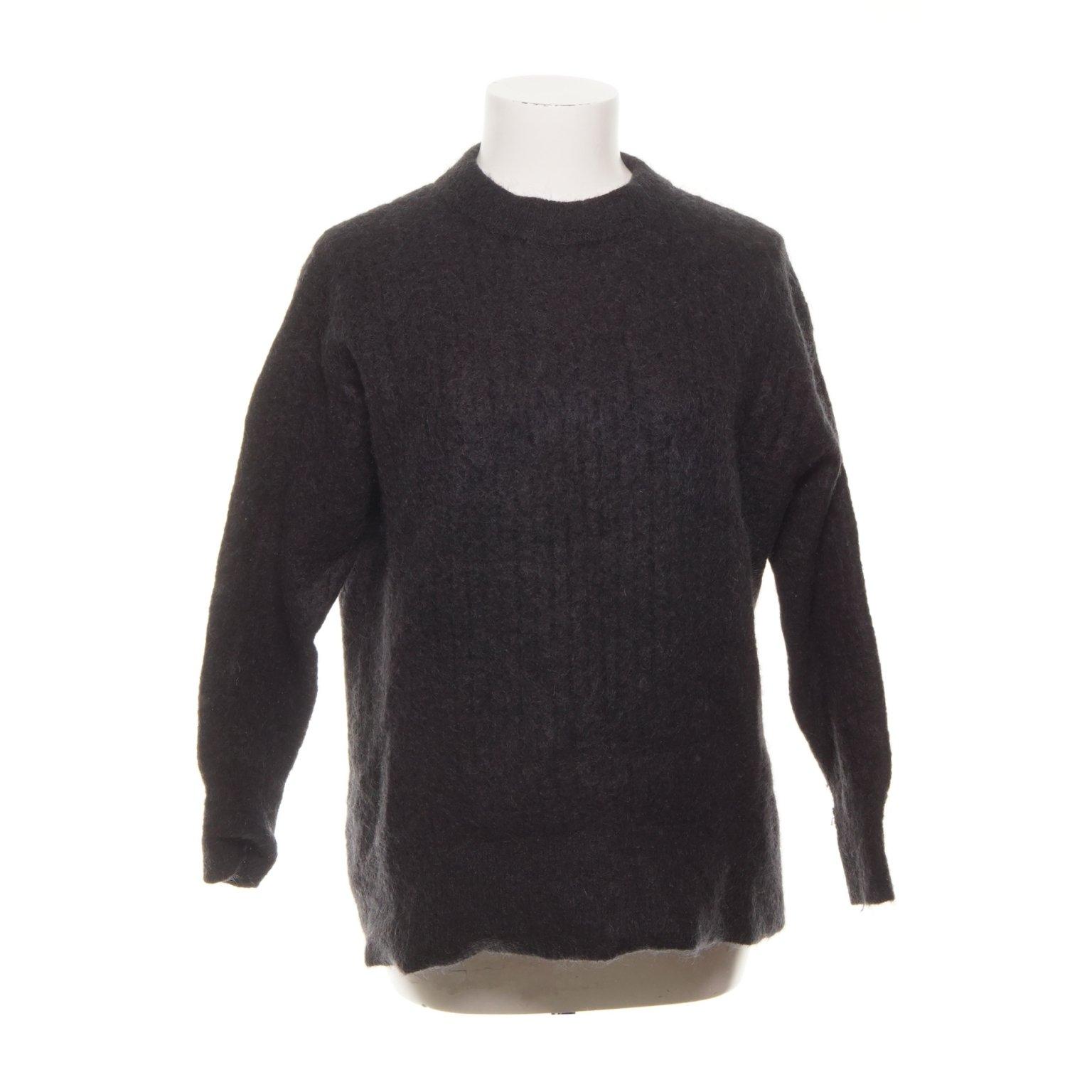 svart mohair tröja