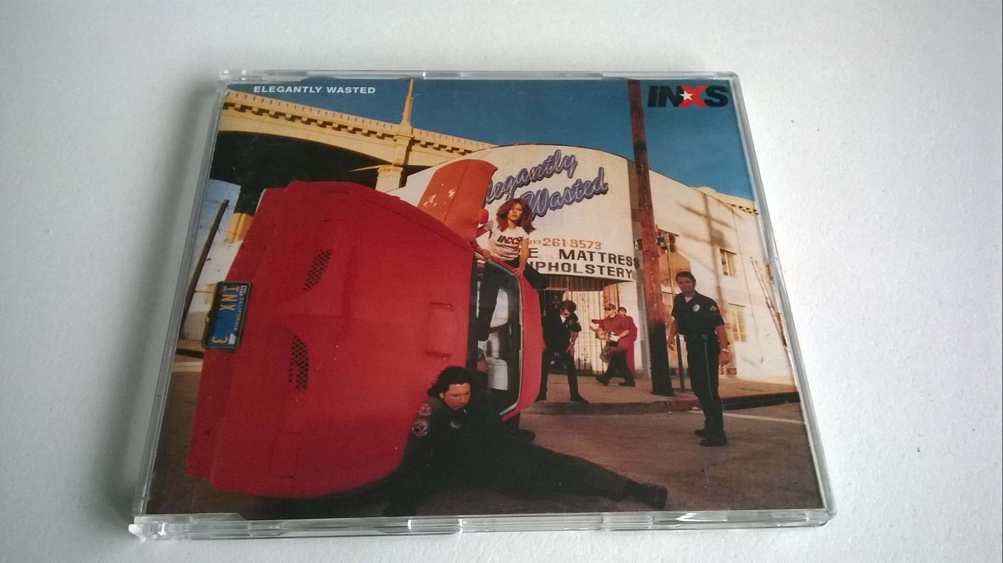 INXS - Elegantly Wasted, CD, Single