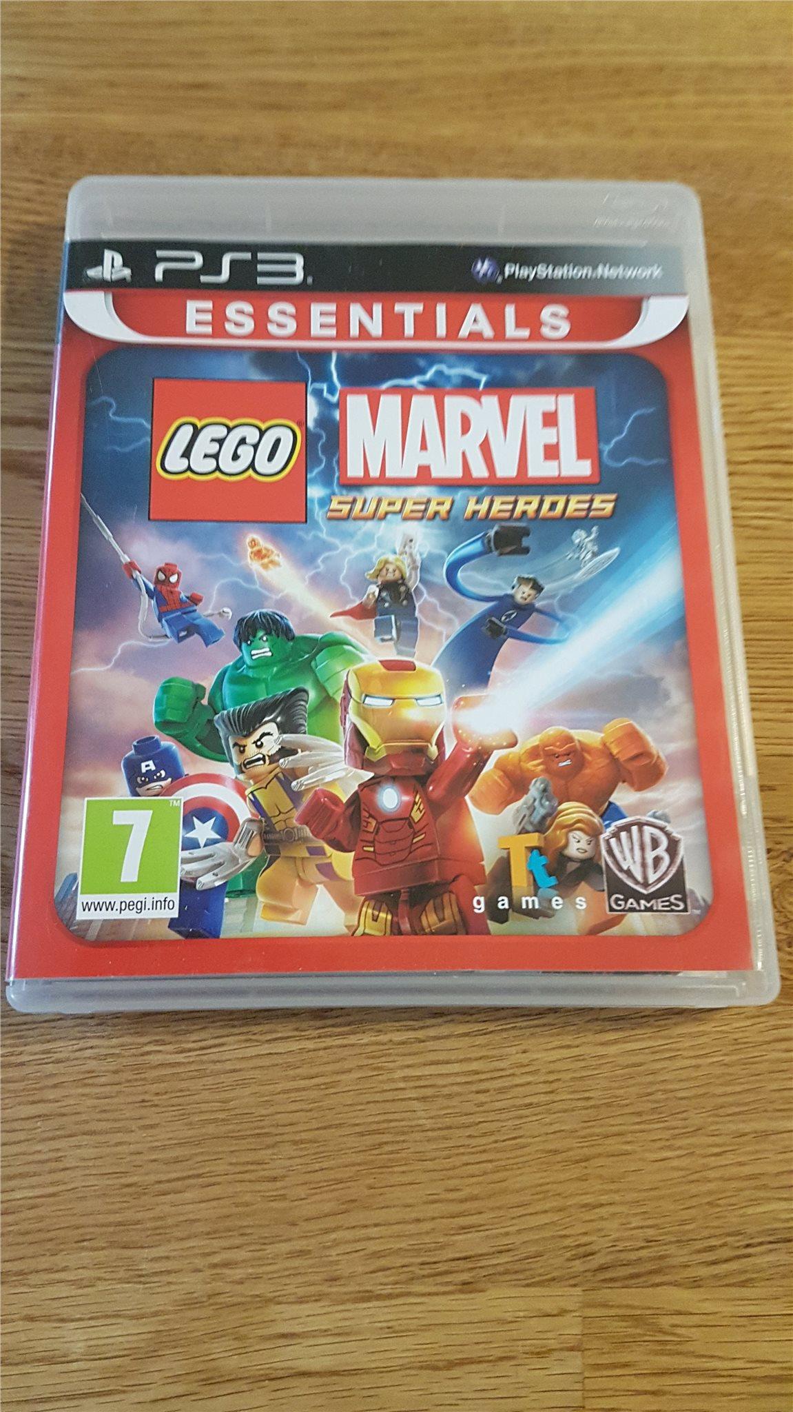 Lego MARVEL Super Heroes - PS3 - FINT SKICK !! (345996183) ᐈ Köp på