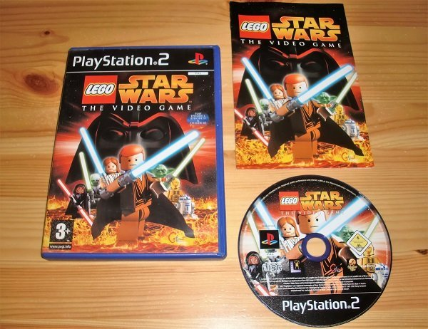PS2: Lego Star Wars the Video Game