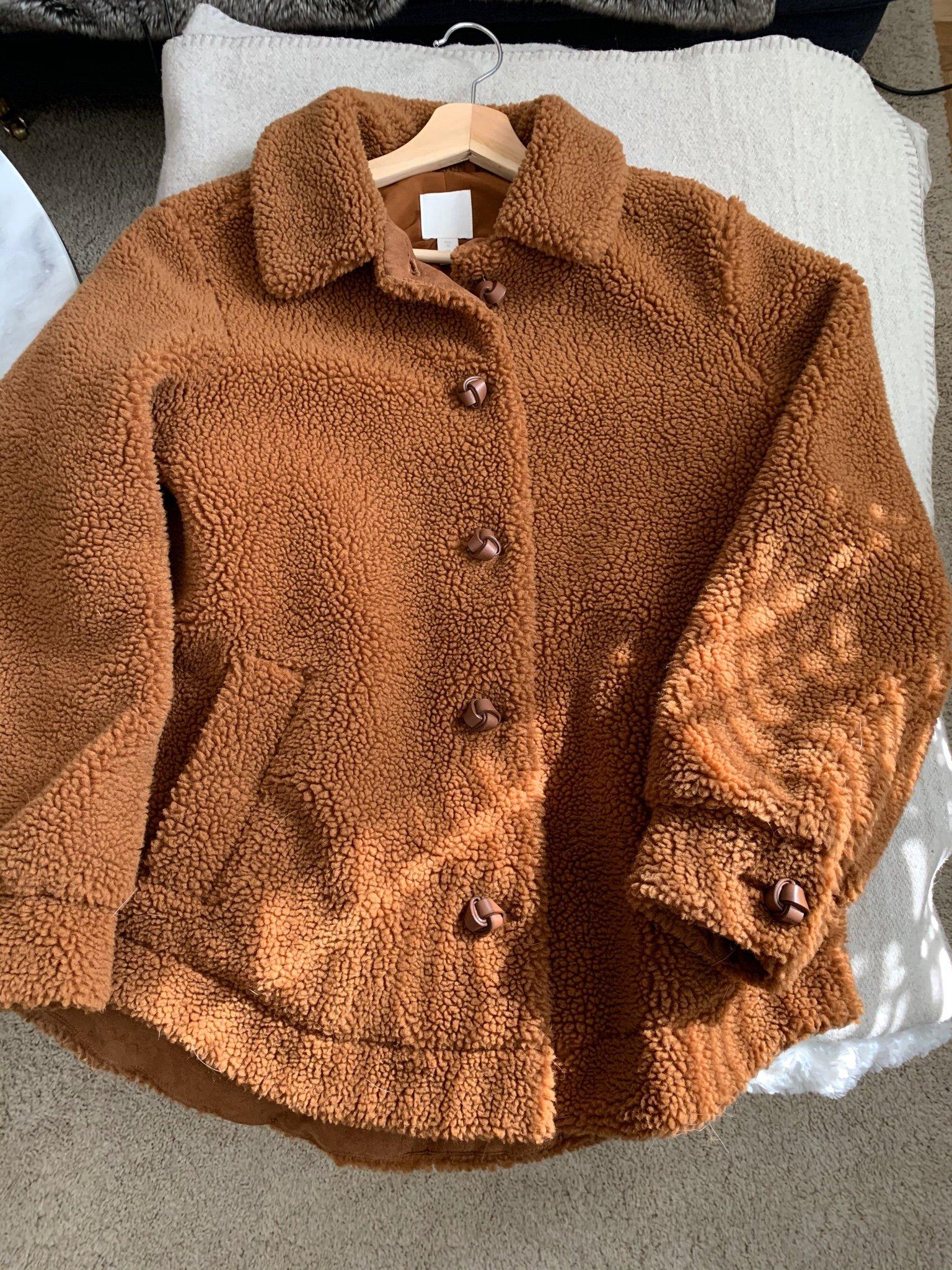 Jacka Teddy från H&M stl. 36, fint skick
