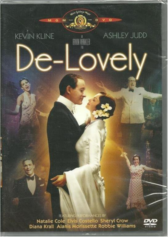 De-Lovely - Kevin Kline/Ashley Judd - Ny och inplastad