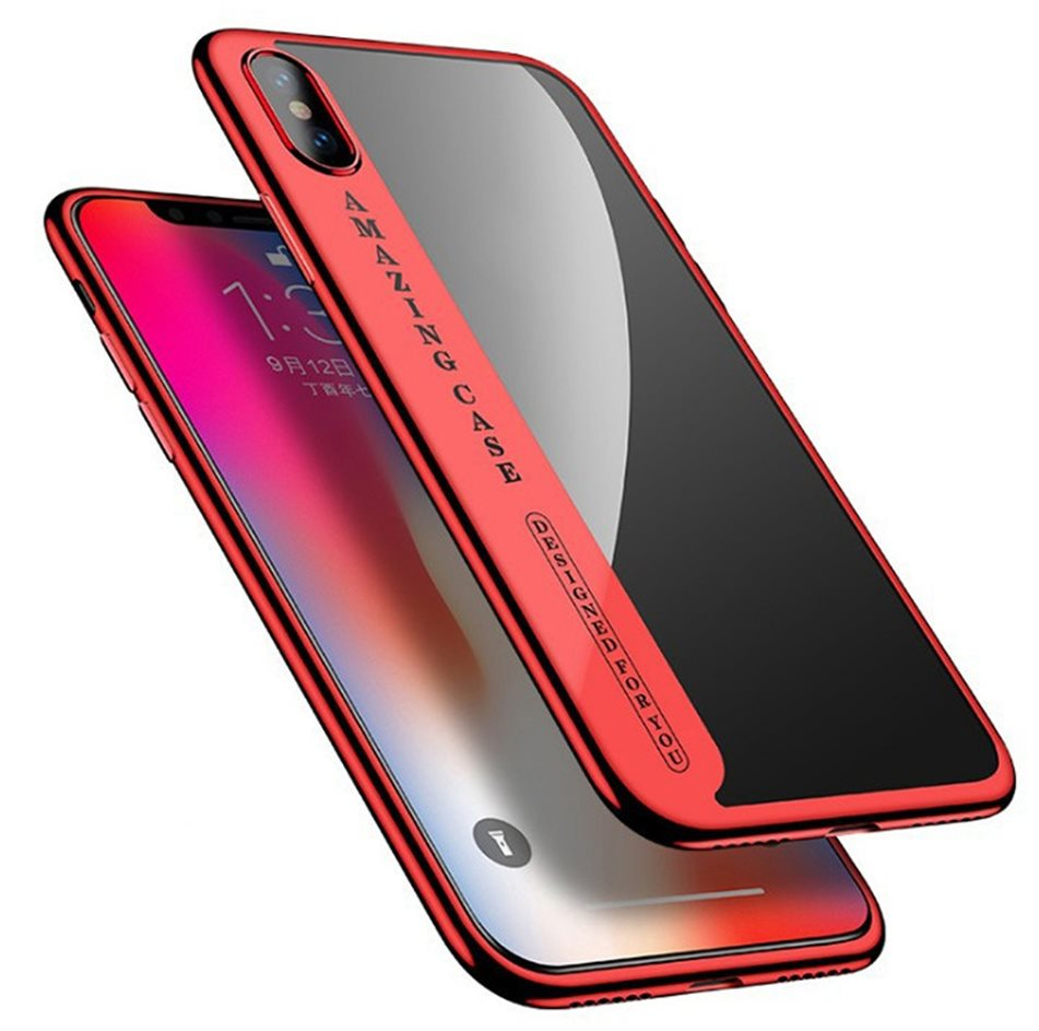 timeless design e5407 39c09 iPhone 8 - Shockproof 360 Hybrid Case Cover - Röd (325115076) ᐈ Köp ...