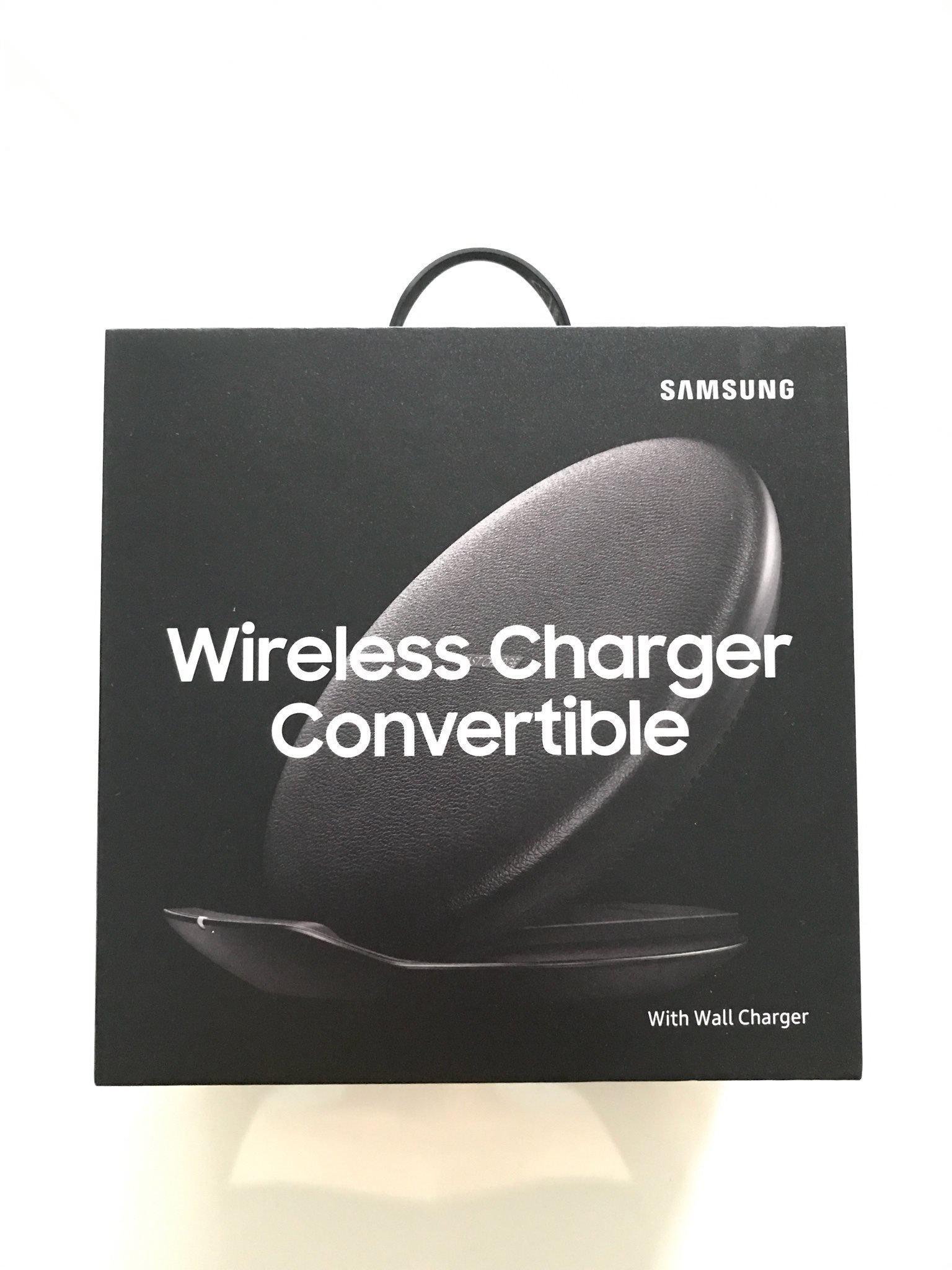 Ny Samsung trådlös laddare (obruten förpackning)
