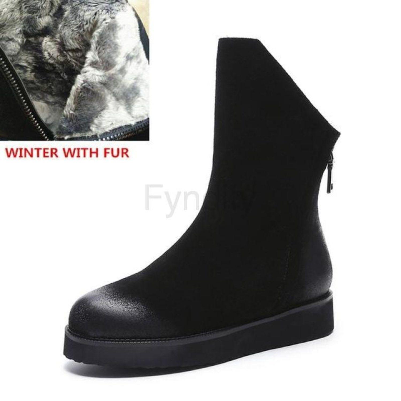 Snow boots dam
