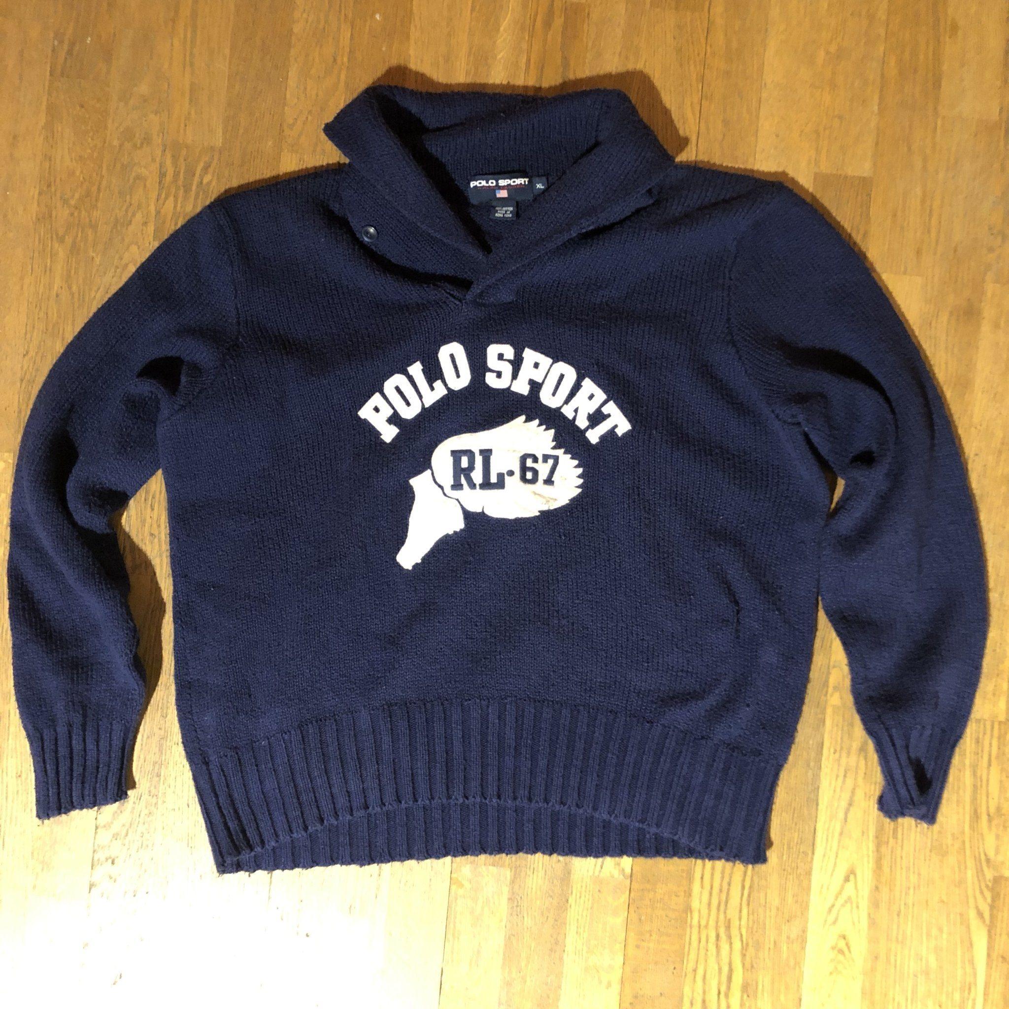 polo sport tröja