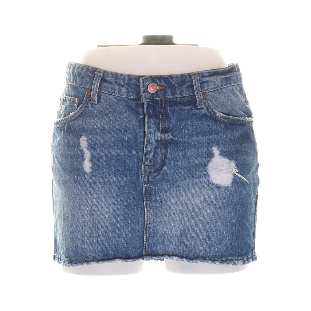 ca0f4c410ee3 Perfect Jeans Gina Tricot, Kjol, Strl: 34, Blå (350684028) ᐈ Sellpy ...