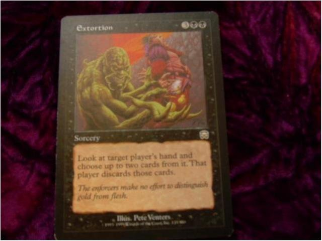 EXTORTION RARE(SVART MERCADIAN MASQUES)