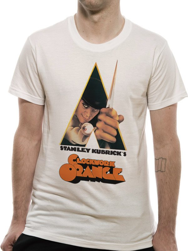 CLOCKWORK ORANGE - KNIFE (UNISEX)  T-Shirt - X-Large