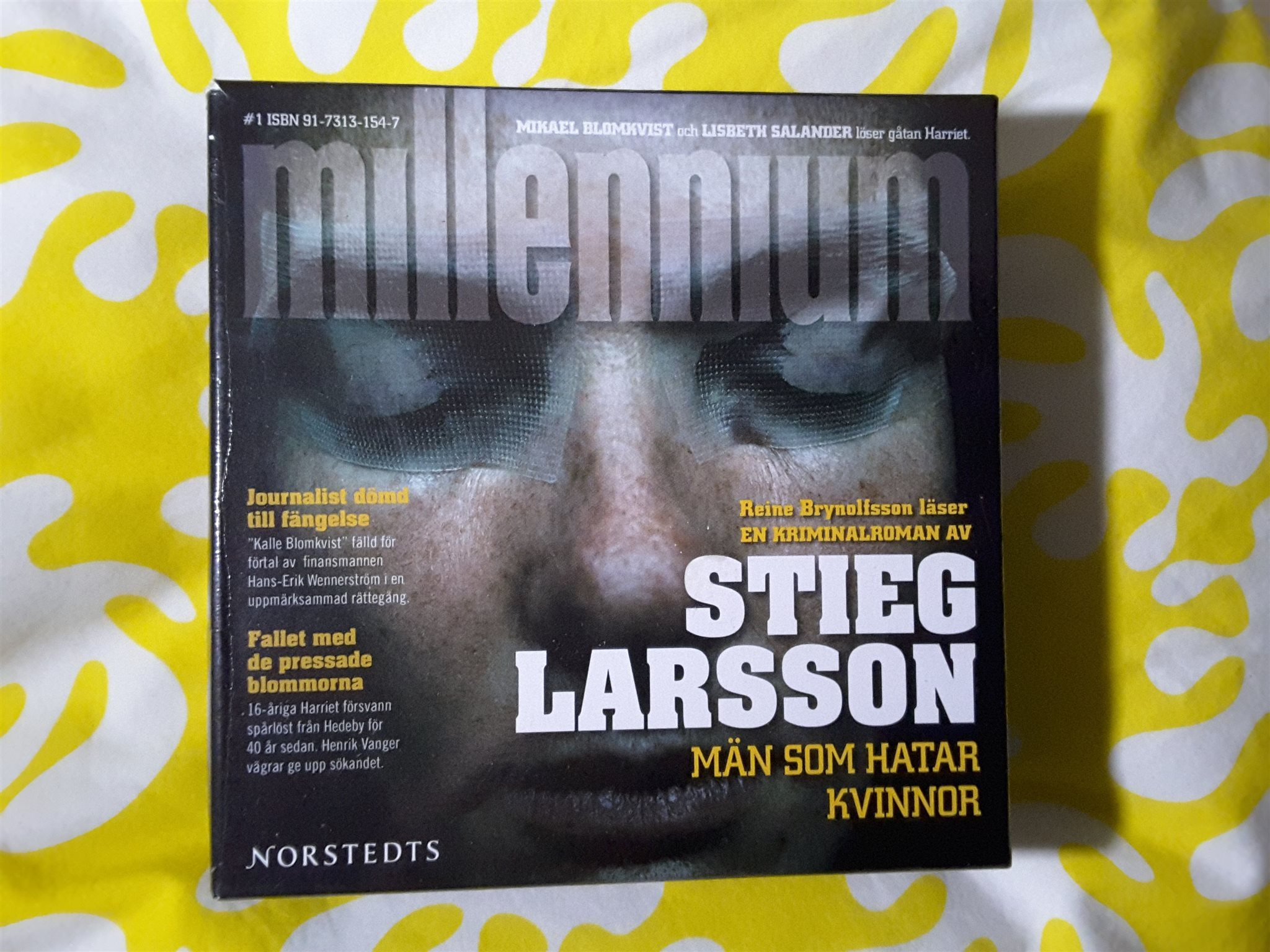 julklapp kvinna 40 år Ljudbok Steig Larsson   Män som hatar kvinnor  .. (319817498) ᐈ  julklapp kvinna 40 år