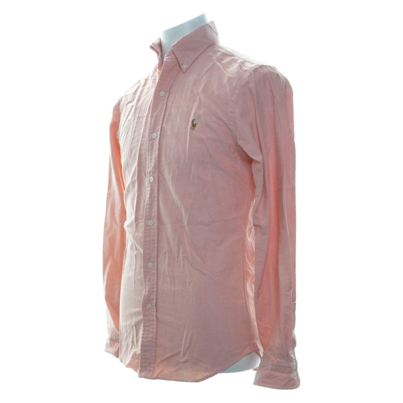 Polo Ralph Lauren, Skjorta, Strl: S, Slim Fit, Fit, Fit, Rosa 9185ce