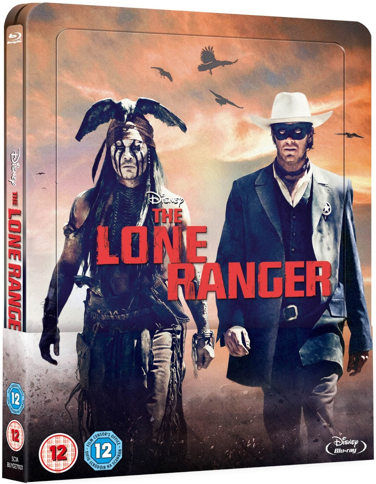 The Lone Ranger (STEELBOOK Limited) JOHNNY DEPP