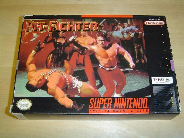 PIT-FIGHTER SUPER NINTENDO SNES *NYTT*