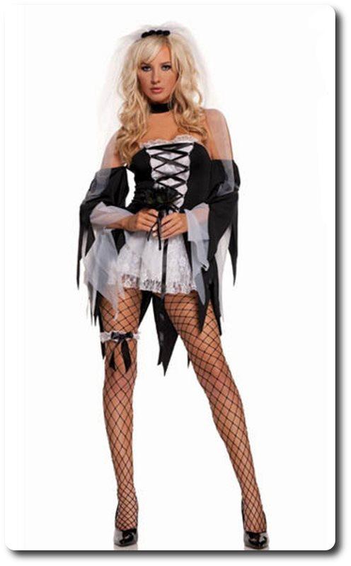 Zombie brud maskeraddräkt strl.36 .. (293087297) ᐈ party-fashion på ... 29471b2a51116
