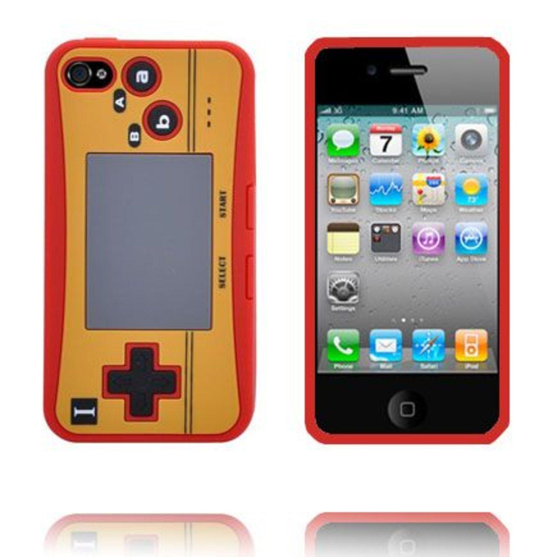 4S Game Pad Skal (Röd) iPhone 4S Silikonskal (296054665) ᐈ WePack ... 4cae392d97343