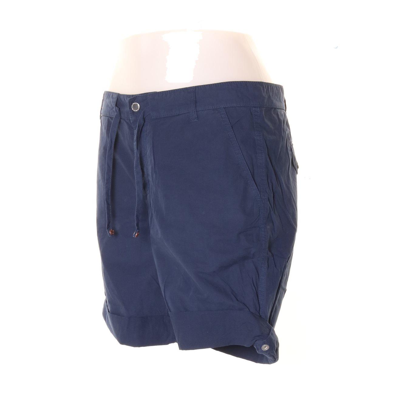 GANT, Shorts, Strl: 36, Mörkblå Mörkblå Mörkblå 585093