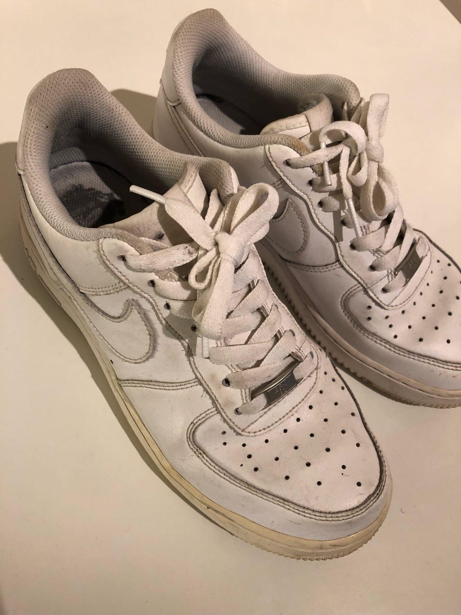 new styles 9dbf1 9a3b7 Vita Nike Air Max sneakers, storlek 40, gympaskor, dad shoes