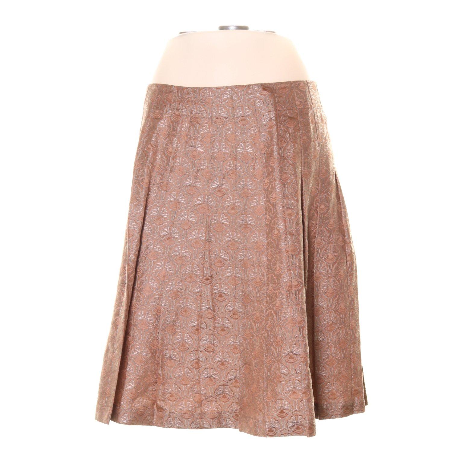 7bec133e4186 Plisserad kjol, Strl: S/M, Rosa (353766125) ᐈ Sellpy på Tradera