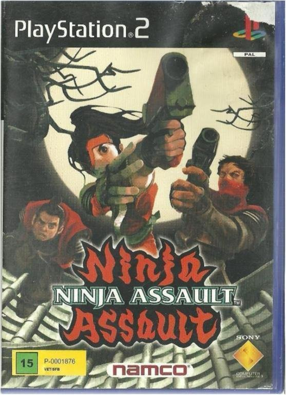 NINJA ASSAULT  ( PS2 SPEL )