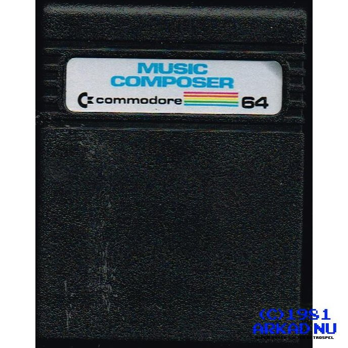 MUSIC COMPOSER C64 CARTRIDGE COMMODORE 64