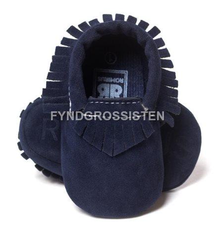 64d4be731b4 Mockasiner för Småbarn 13-18 mån Barnskor Barn skor - Marinblå Fri Frakt Ny