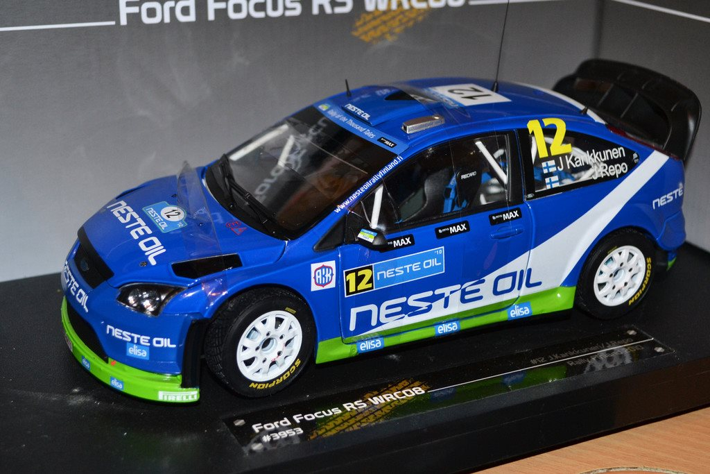 2010 Ford Focus RS WRC 2008  #12 J.Kankkunen/J.Repo 1:18 Sunstar (Rally Finland)
