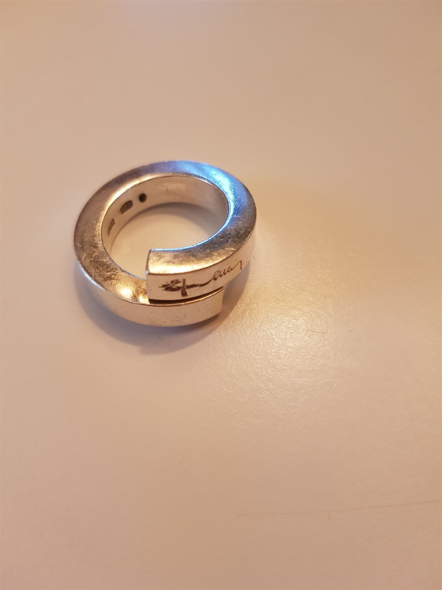 efva attling ring twist
